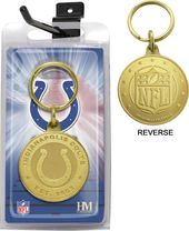 Football - Indianapolis Colts Bronze Bullion