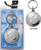 Football - Detroit Lions Coin Keychain