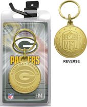 Football - Green Bay Packers Bronze Bullion