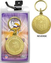 Football - Minnesota Vikings Bronze Bullion