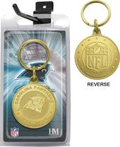 Football - Carolina Panthers Bronze Bullion