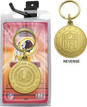Football - Washington Redskins Bronze Bullion