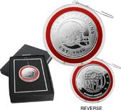 Football - Cleveland Browns Silver Coin Ornament