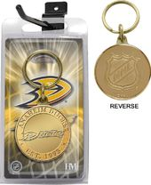 Hockey - Anaheim Ducks Bronze Coin Keychain