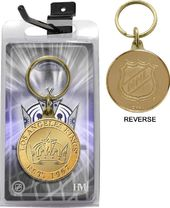 Hockey - Los Angeles Kings Bronze Coin Keychain