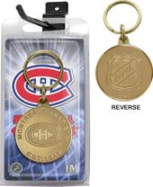 Hockey - Montreal Canadiens Bronze Coin Keychain