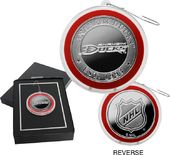 Hockey - Anaheim Ducks Silver Coin Ornament
