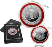 Hockey - Chicago Blackhawks Silver Coin Ornament