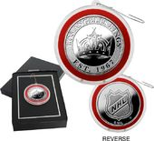 Hockey - Los Angeles Kings Silver Coin Ornament