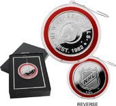 Hockey - New Jersey Devils Silver Coin Ornament