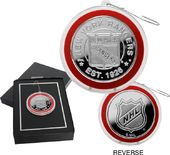 Hockey - New York Rangers Silver Coin Ornament