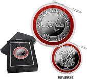 Hockey - Washington Capitals Silver Coin Ornament
