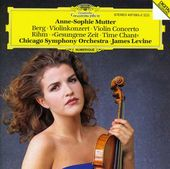 Berg: Violin Concerto / Rihm: Time Chant