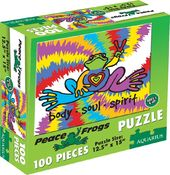 Peace Frog - Puzzle Body Soul Spirit