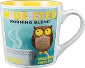 Wide-Eyed Owl - 18 oz. Stoneware Mug