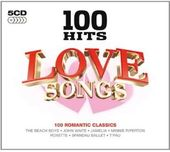 100 Hits: Love Songs (5-CD)