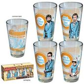 The Hangover - Wedding 4-Pack Pint Glasses