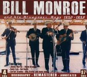 And His Bluegrass Boys 1950-1958 (4-CD Box Set)