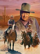 John Wayne - 1000pc The Cowboy Way - Puzzle