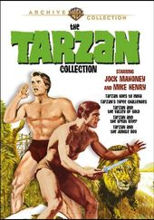 Tarzan Collection with Jack Mahoney and Mike