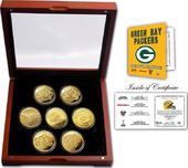 Football - Green Bay Packers 24KT Gold plated 7