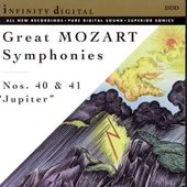 "Great Mozart Symphonies: Nos. 40 & 41 ""Jupiter"""