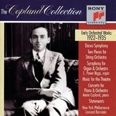 The Copland Collection: Early Orchestral Works,