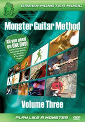 Monster Guitar Method, Volume 3 Novice /