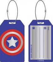 Marvel Comics - Captain America Aluminum Bag Tag