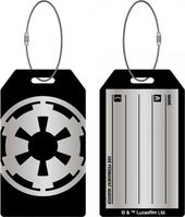 Star Wars - Imperial Aluminum Bag Tag