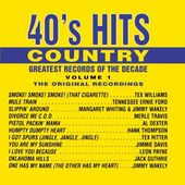 Great Records of the Decade: 40's Hits Country,