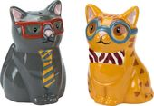 Smarty Cats - Salt & Pepper Shakers