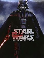 Star Wars - The Complete Saga (9-Disc) (Blu-ray)