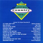 All-Time Greatest Hits of Country, Volume 1