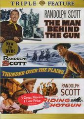 Randolph Scott Triple Feature (Man Behind the Gun