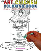 The Art Chicken Coloring Book: Modern Art
