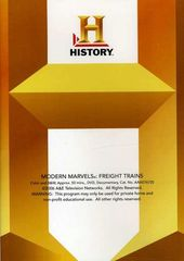 History Channel: Modern Marvels - Freight Trains