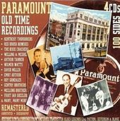 Paramount Old Time Recordings (4-CD)