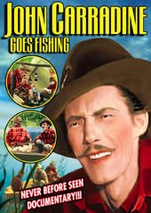 "John Carradine Goes Fishing - 11"" x 17"" Poster"