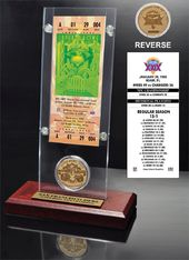 Football - Super Bowl 29 Ticket & Game Coin