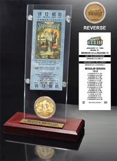Football - Super Bowl 33 Ticket & Game Coin