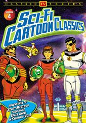 Sci-Fi Cartoon Classics, Volume 4: The Adventures