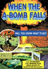 "When The A-Bomb Falls - 11"" x 17"" Poster"