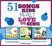 51 Songs Kids Really Love to Sing (3-CD)