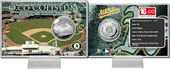 Baseball - O .Co Coliseum Silver Coin Card
