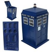 Doctor Who - Tardis Shaped Ice Bucket & Ice Cube