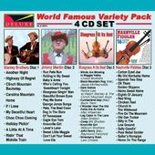 World Famous Variety Pack - Bluegrass (4-CD)