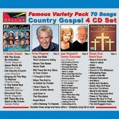 Famous Variety Pack - Gospel (4-CD)