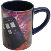 Doctor Who - 12 oz. Mug with Hidden Tardis (Red