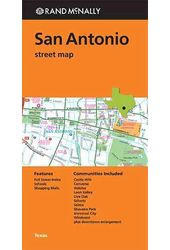 Rand McNally San Antonio Street Map: Texas